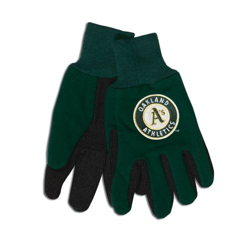 Oakland Athletics Two Tone Gloves - Adult Size - Special Order