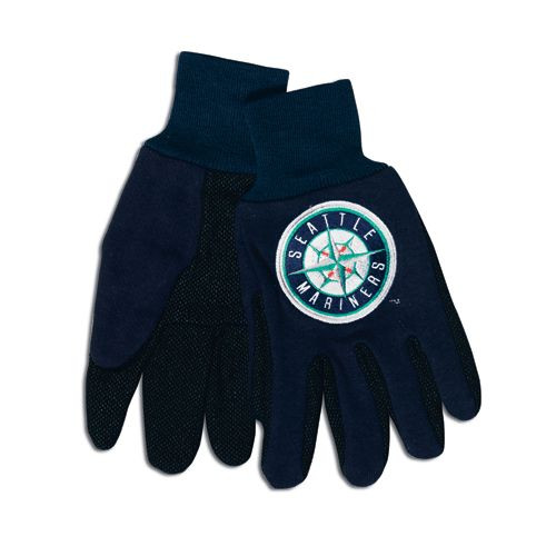 Seattle Mariners Two Tone Gloves - Adult Size - Special Order