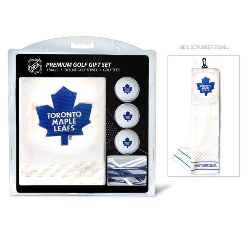 Toronto Maple Leafs Golf Gift Set with Embroidered Towel - Special Order