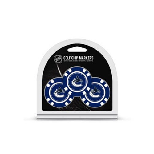 Vancouver Canucks Golf Chip with Marker 3 Pack - Special Order
