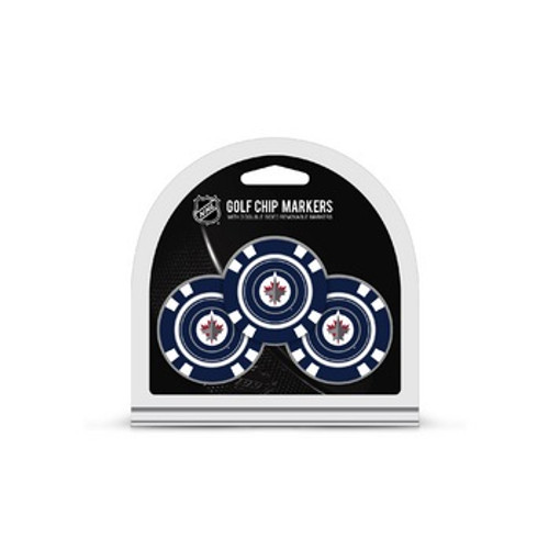 Winnipeg Jets Golf Chip with Marker 3 Pack - Special Order