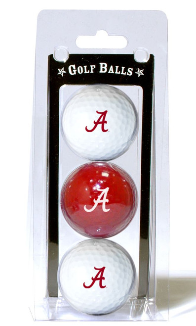 Alabama Crimson Tide 3 Pack of Golf Balls - Special Order