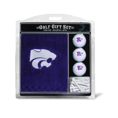 Kansas State Wildcats Golf Gift Set with Embroidered Towel - Special Order