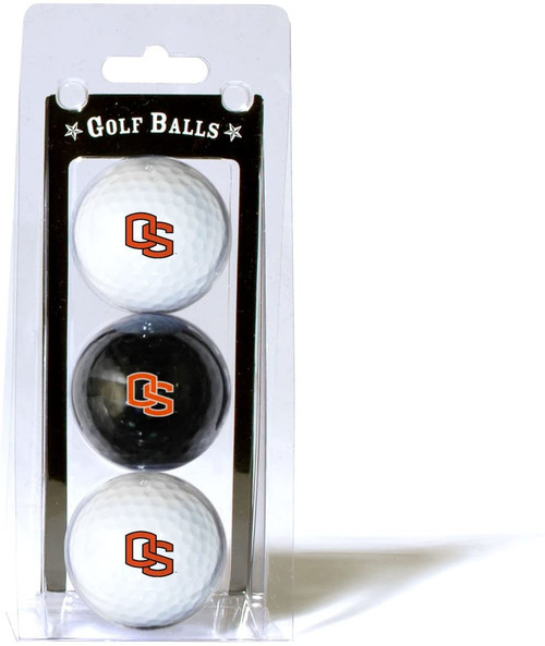 Oregon State Beavers 3 Pack of Golf Balls - Special Order