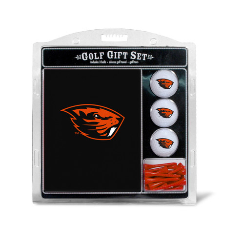 Oregon State Beavers Golf Gift Set with Embroidered Towel - Special Order