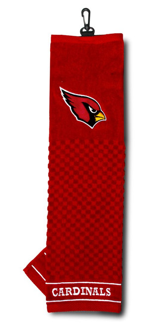 "Arizona Cardinals 16""x22"" Embroidered Golf Towel - Special Order"
