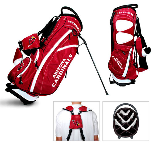 Arizona Cardinals Fairway Golf Stand Bag - Special Order