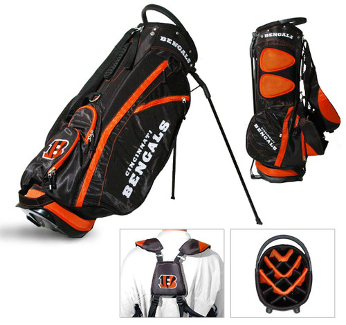 Cincinnati Bengals Fairway Golf Stand Bag - Special Order