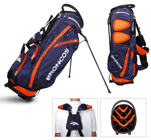 Denver Broncos Fairway Golf Stand Bag - Special Order