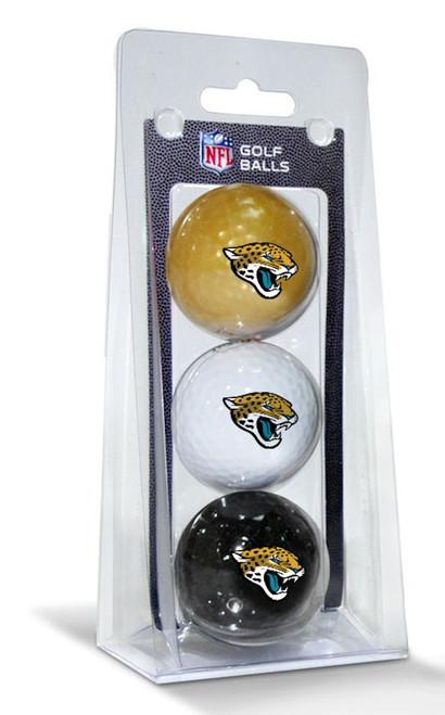 Jacksonville Jaguars 3 Pack of Golf Balls - Special Order