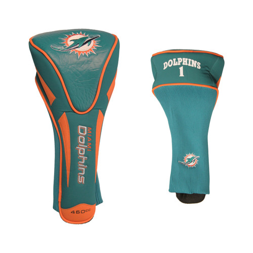 Miami Dolphins Golf Headcover - Single Apex Jumbo - Special Order