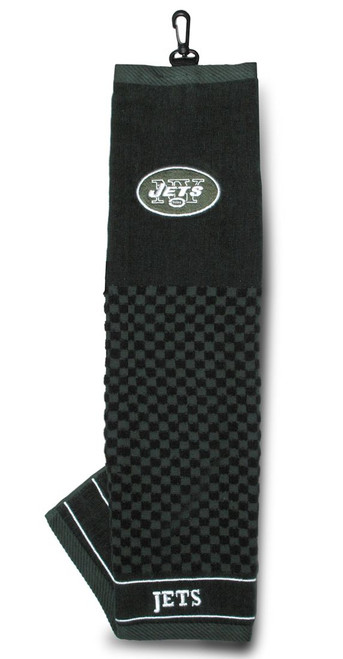 """New York Jets 16""""x22"""" Embroidered Golf Towel - Special Order"""