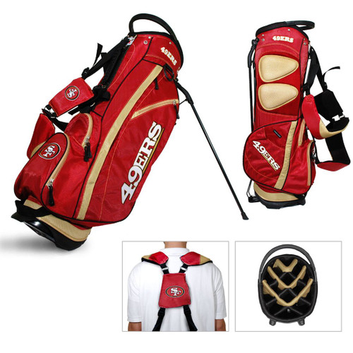 San Francisco 49ers Fairway Golf Stand Bag - Special Order