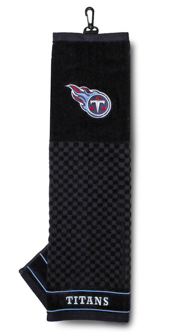 """Tennessee Titans 16""""x22"""" Embroidered Golf Towel - Special Order"""