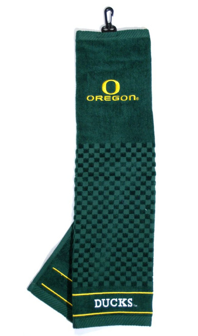"Oregon Ducks 16""x22"" Embroidered Golf Towel - Special Order"