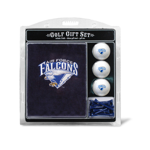 Air Force Falcons Golf Gift Set with Embroidered Towel - Special Order