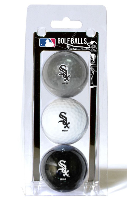 Chicago White Sox Golf Balls 3 Pack - Special Order