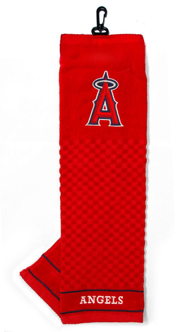 """Los Angeles Angels 16""""x22"""" Embroidered Golf Towel - Special Order"""