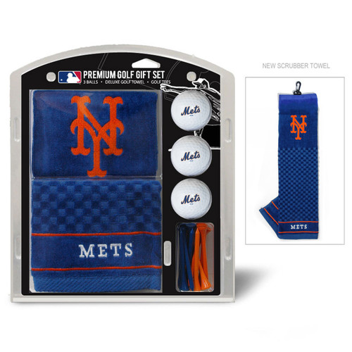 New York Mets Golf Gift Set with Embroidered Towel - Special Order