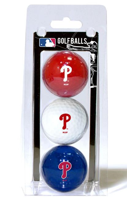 Philadelphia Phillies Golf Balls 3 Pack - Special Order