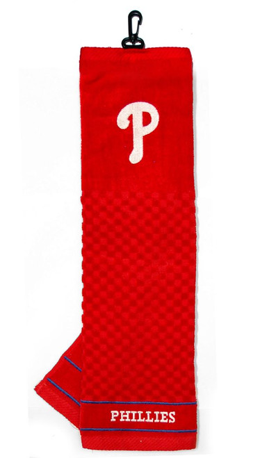 "Philadelphia Phillies 16""x22"" Embroidered Golf Towel"