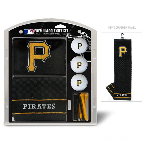 Pittsburgh Pirates Golf Gift Set with Embroidered Towel - Special Order