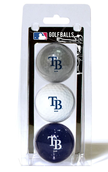 Tampa Bay Rays 3 Pack of Golf Balls - Special Order