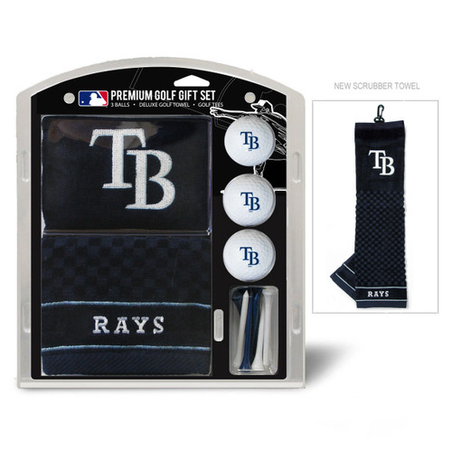 Tampa Bay Rays Golf Gift Set with Embroidered Towel - Special Order