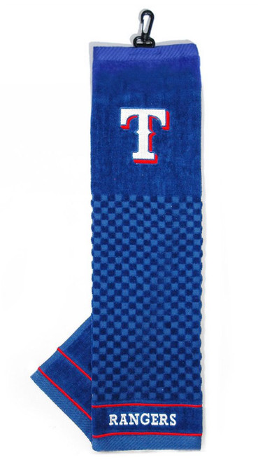 """Texas Rangers 16""""x22"""" Embroidered Golf Towel"""