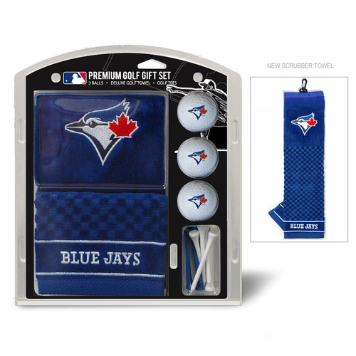 Toronto Blue Jays Golf Gift Set with Embroidered Towel - Special Order