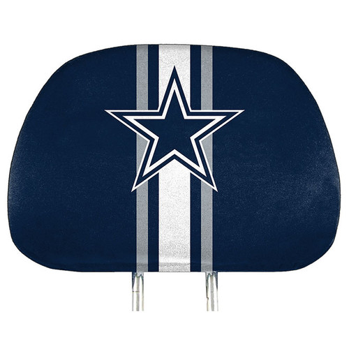 Dallas Cowboys Headrest Covers Full Printed Style - Special Order