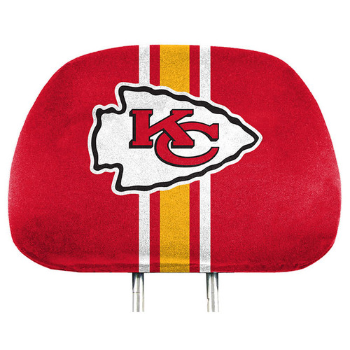 Kansas City Chiefs Headrest Covers Full Printed Style