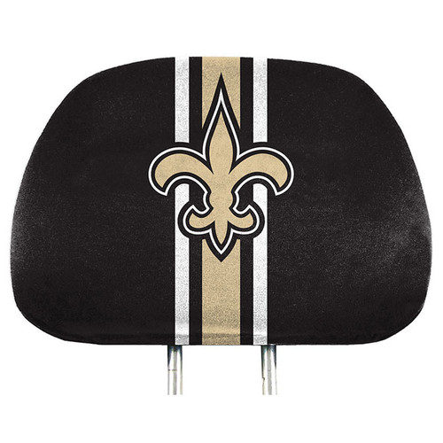 New Orleans Saints Headrest Covers Full Printed Style