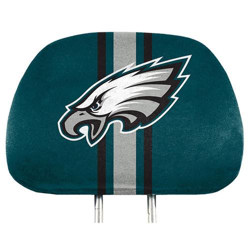 Philadelphia Eagles Headrest Covers Full Printed Style - Special Order