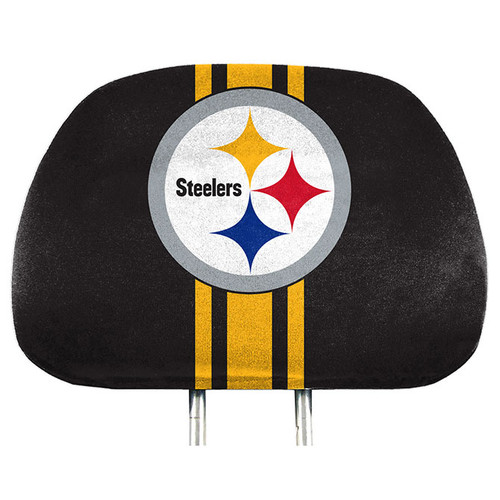 Pittsburgh Steelers Headrest Covers Full Printed Style