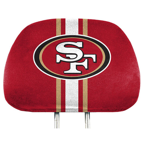 San Francisco 49ers Headrest Covers Full Printed Style