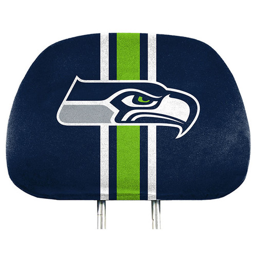 Seattle Seahawks Headrest Covers Full Printed Style - Special Order