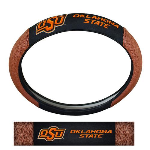 Oklahoma State Cowboys Steering Wheel Cover - Premium Pigskin - Special Order