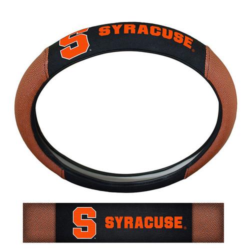 Syracuse Orange Steering Wheel Cover - Premium Pigskin - Special Order