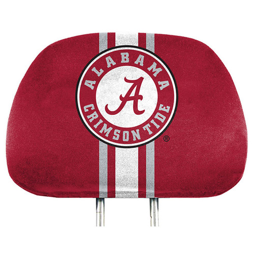 Alabama Crimson Tide Headrest Covers Full Printed Style - Special Order