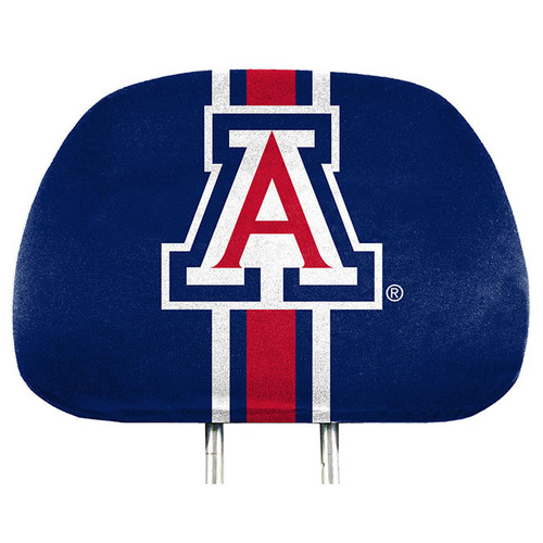 Arizona Wildcats Headrest Covers Full Printed Style - Special Order