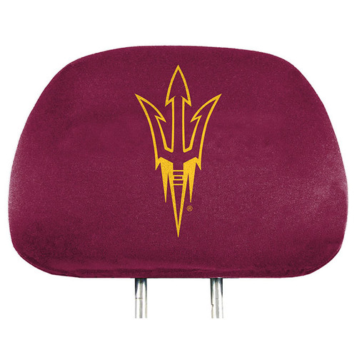 Arizona State Sun Devils Headrest Covers Full Printed Style - Special Order