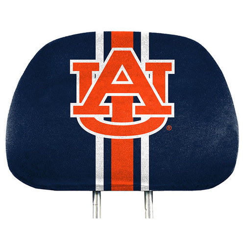 Auburn Tigers Headrest Covers Full Printed Style - Special Order