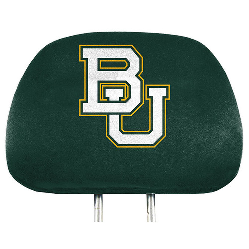 Baylor Bears Headrest Covers Full Printed Style - Special Order