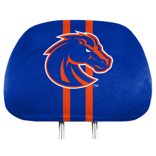 Boise State Broncos Headrest Covers Full Printed Style - Special Order