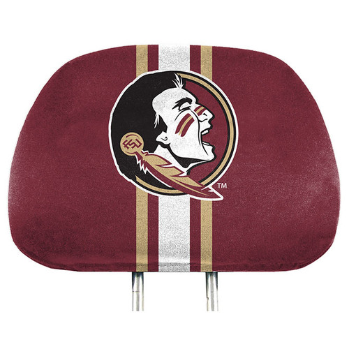 Florida State Seminoles Headrest Covers Full Printed Style - Special Order