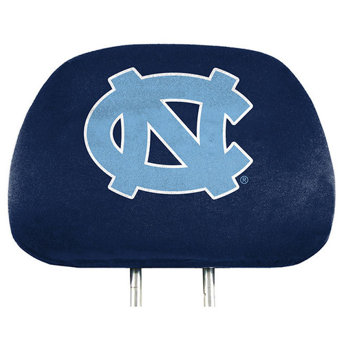 North Carolina Tar Heels Headrest Covers Full Printed Style - Special Order