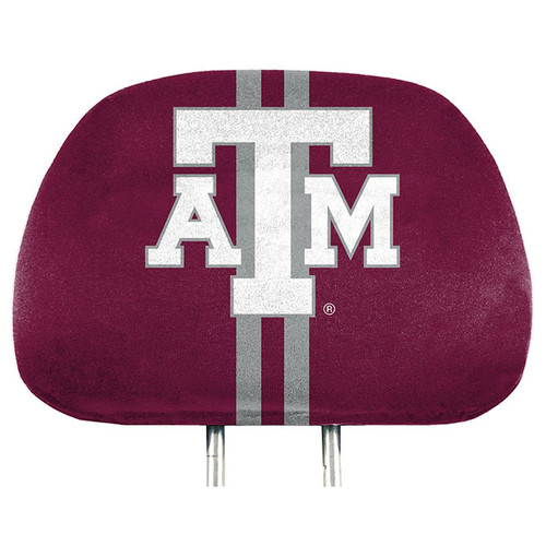 Texas A&M Aggies Headrest Covers Full Printed Style - Special Order