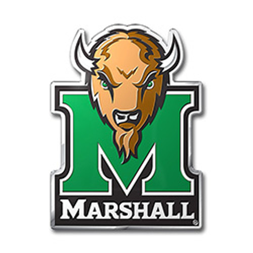 Marshall Thundering Herd Auto Emblem - Color - Special Order