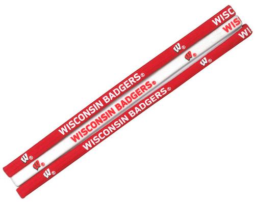Wisconsin Badgers Elastic Headbands - Special Order